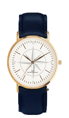 Kompas FS Gold navy blue