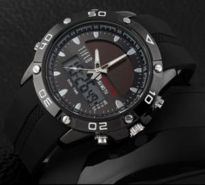 Solar Dual Time Horloge